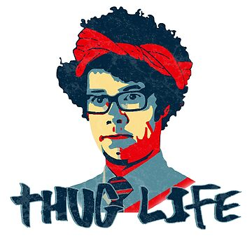IT Crowd Inspired - Thug Life Moss - Nerd Humor - Flippin Awesome Moss - Television - British Sitcoms by traciv