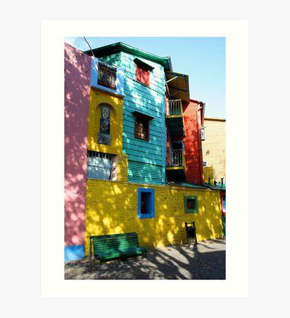 Colour coded Art Print