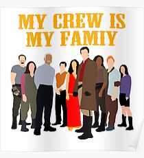 Firefly crew Poster