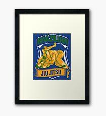 Brazilian Jiu Jitsu - Martial Arts Gift Framed Print