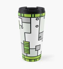 Metal Lab - Ghost Gear Green - Danny Phantom Travel Mug