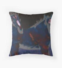 dark horse(s) Throw Pillow