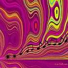 Abstract Waves by June Holbrook
