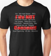 I do NOT Consent... the list grows Unisex T-Shirt