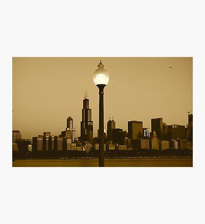 CHICAGO SUNRISE Photographic Print