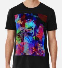 Jimmy Hendrix Abstract Men's Premium T-Shirt