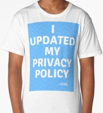 Updated privacy policy Long T-Shirt