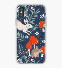 winter forest frolic iPhone Case