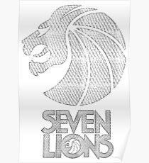 Seven Lions - Silver Diamonds Poster