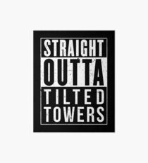 Fortnite Battle Royale - Straight Outta Tilted Towers Art Board