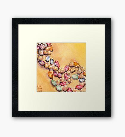 Beads III Framed Print