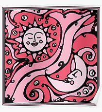 Pink Galaxy Poster