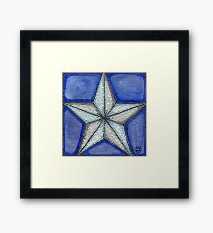 Shining Star Framed Print