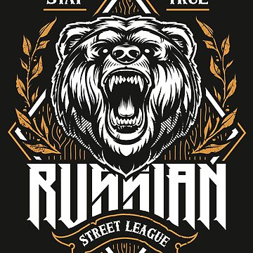 Russian Street League Bear by Vecster