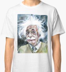ALBERT EINSTEIN - watercolor portrait.15 Classic T-Shirt
