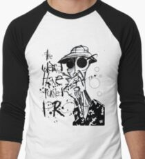 The Weird Have Turned Pro Men's Baseball ¾ T-Shirt