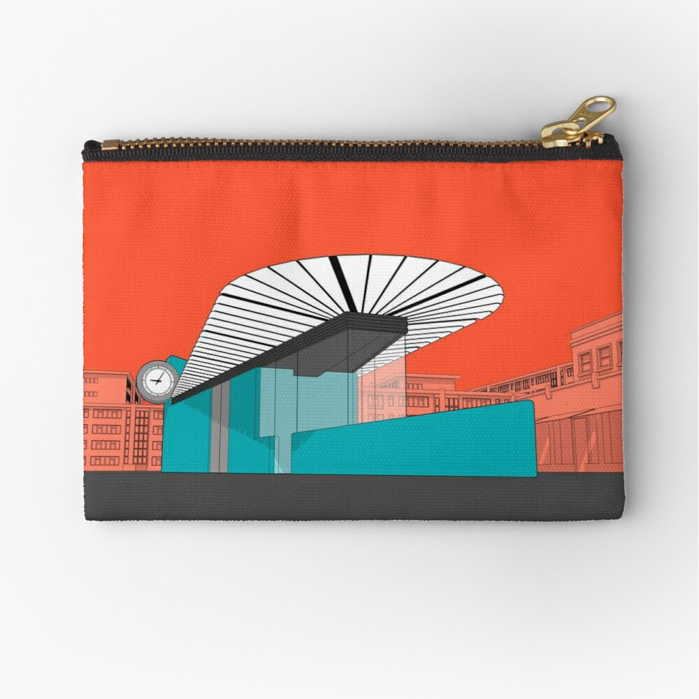Turquoise Island Zipper Pouch