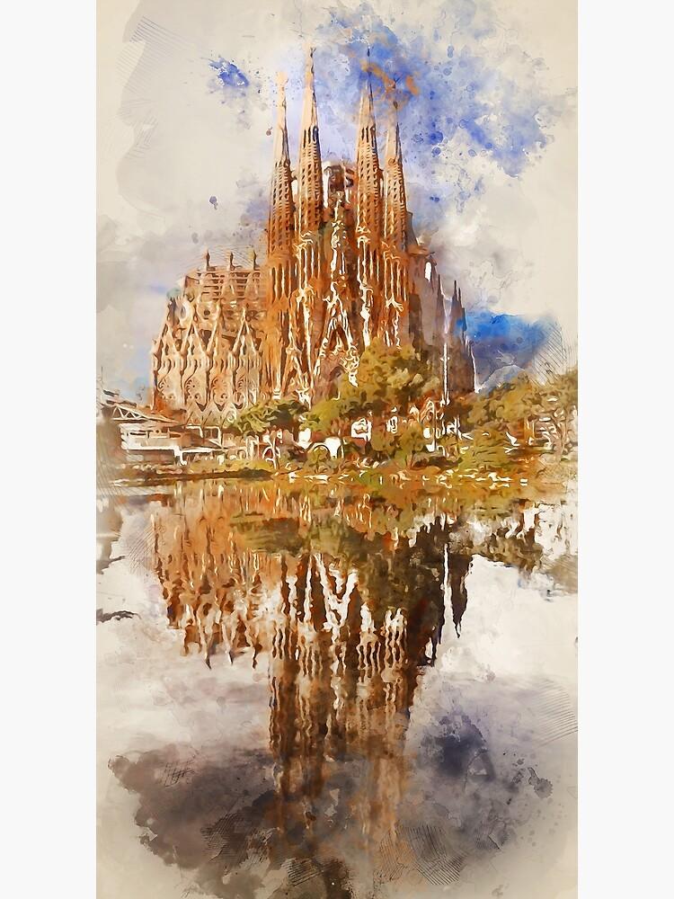Barcelona, Sagrada Familia by ErianAndre