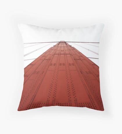 International Red Throw Pillow