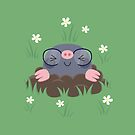 Cute little moles by petitspixels