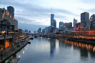 Yarra River Dusk by JHP Unique and Beautiful Images