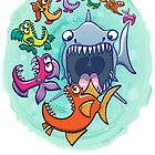 Big fish eat little fish and vice versa by Zoo-co