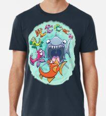 Big fish eat little fish and vice versa Men's Premium T-Shirt