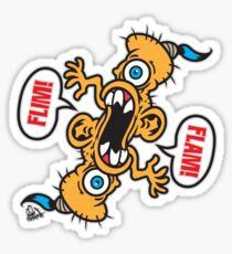 Flim! Flam! Sticker