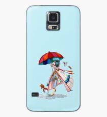 Umbrella Girl Case/Skin for Samsung Galaxy