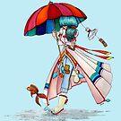 Umbrella Girl by studinano
