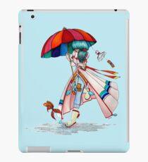 Umbrella Girl iPad Case/Skin