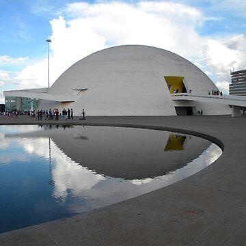 O Museu Nacional Honestino Guimarães by zaxart
