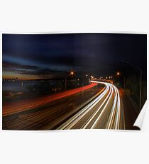 Kwinana Freeway - Western Australia  Poster