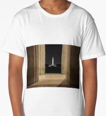 Washington Monument  Long T-Shirt