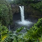 Hawaii Rainbow Falls by photosbyflood