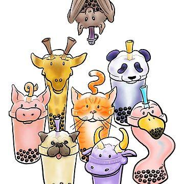 Bubble Zoo by katkuo