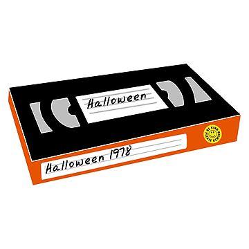 Halloween VHS Tape by artshapedbox