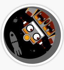 Robot Lost In Space Sticker