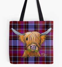 SCoTTiSH HiGHLaND CoW 'TortaN LiTTLe ViKiNG P' von SHiRLeY MacARTHuR Tasche