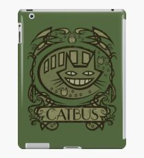 Catbus Nouveau iPad Case/Skin