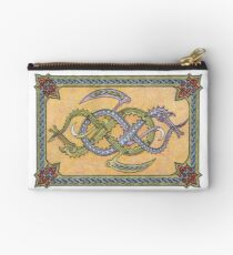Celtic Infinity Dragons Studio Pouch
