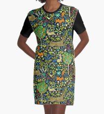 Arazzo Medievale Graphic T-Shirt Dress