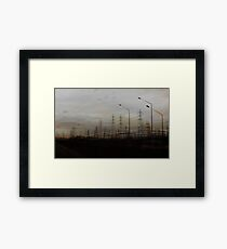 High Tension Cats Cradle Framed Print