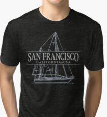San Francisco Sailing Tri-blend T-Shirt
