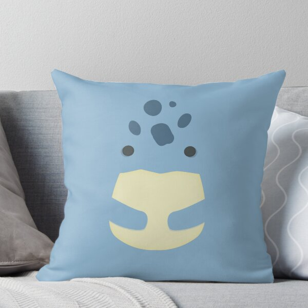 Guild Wars 2 Quaggan Throw Pillow