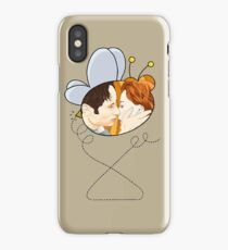 X files Kiss bee movie by Mimie iPhone Case