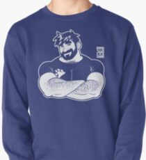 ADAM LIKES CROSSING ARMS - LINEART Pullover