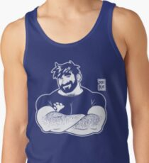ADAM LIKES CROSSING ARMS - LINEART Men's Tank Top