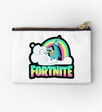 Fortnite Battle Royale Unicorn Rainbow Studio Pouch