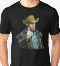 Chuck Norris Art Unisex T-Shirt